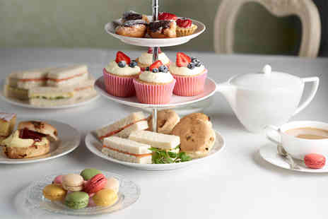 Mercure Goldthorn Hotel - Afternoon tea for 2 including wine, sandwiches, scones & cakes - Save 58%