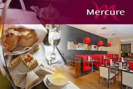 Mercure London Bloomsbury - Afternoon Tea For Two or Four People , With Prosecco  - Save 52%