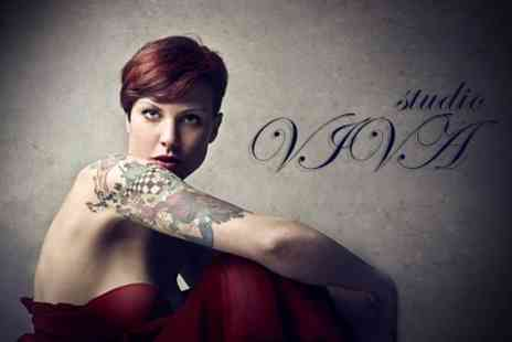 Studio VIVA - Tattoo Design With Consultation and 30 Minutes Ink Time - Save 50%