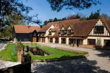 Great Hallingbury Manor - In Hertfordshire One Night 4star Stay For Two With Cream Tea, Breakfast and Late Check Out - Save 41%