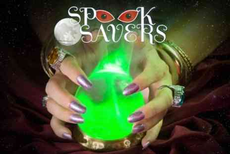 Spooksavers - 'Spirit In Your Hand' Night of Palm Readings and Psychic Mediums - Save 52%