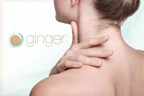 Ginger Natural Health - Three Osteopathy Treatments With Consultation - Save 82%