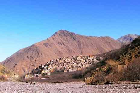Adventure Alternative - In Moroccan Mountains Seven Night Trek For Two With Accommodation and Meals - Save 40%
