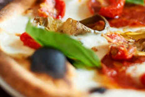 Ciao Bella - Pizza or Pasta Dish and Glass of Wine Each for Two - Save 66%
