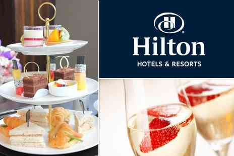 Hilton Hyde Park - Luxury Champagne High Tea for Two - Save 35%