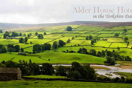 Alder House Hotel - In Yorkshire Dales Two Night Stay for 2 with breakfast - Save 51%