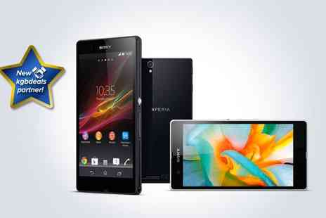 Affordable Mobiles - Black Sony Xperia Z with delivery included - Save 95%