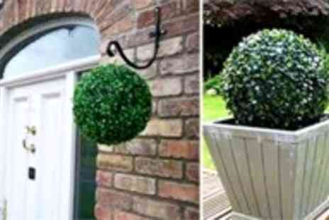Coco Beach - Two artificial topiary balls - Save 64%