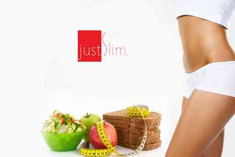 JustSlim - 3 Month JustSlim Online Diet and Nutrition Plan - Save 57%