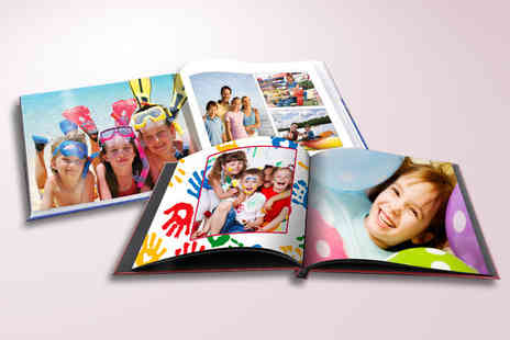 2M Print - 20 page A4 hardback portrait or landscape photobook with printed cover - Save 70%