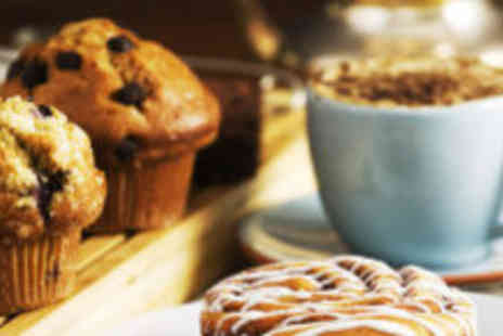 St Martins Tea - Two coffees and two cakes - Save 60%