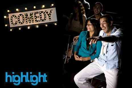 The Highlight - Comedy Night For Two - Save 83%