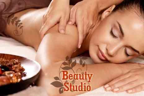 Beauty Studio - Pamper Package Three Options Such as Back Massage and Thai Facial - Save 75%