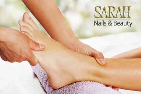 Sarah Nails and Beauty - One Hour Reflexology Treatment - Save 58%