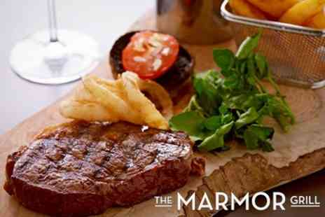 The Marmor Grill - Steak and Cocktail For Two - Save 55%