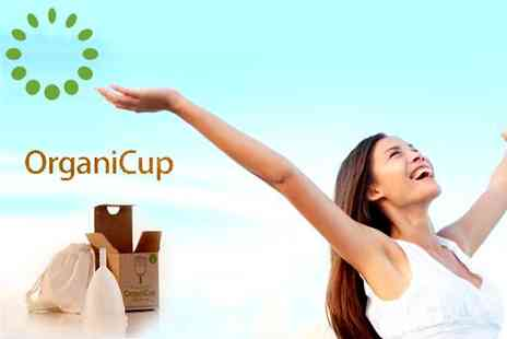 Organicup - Take the stress out of that time of the month  amazing OrganiCup - Save 58%