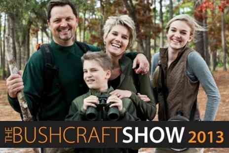 The Bushcraft Show - Ticket For Two - Save 53%
