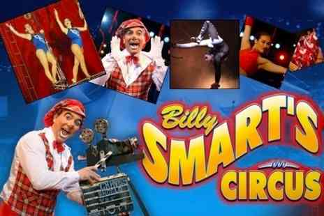 Billy Smart's Circus - Tickets For Two Adults - Save 60%