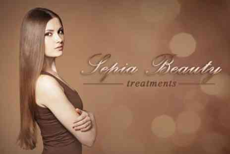 Sepia Hair - Cut and Finish With Joico Conditioning - Save 32%