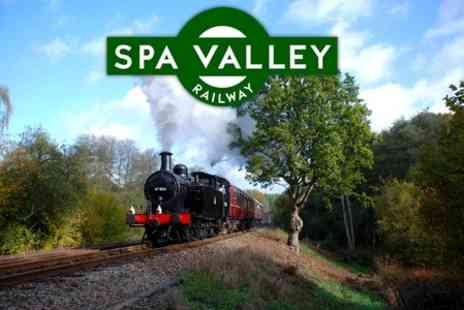 Spa Valley Railway - Two Adults Ticket - Save 55%