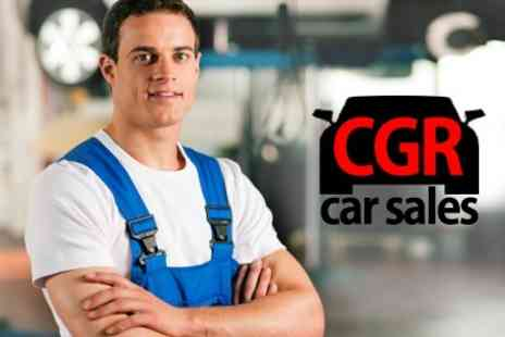 CGR Car Sales - MOT Test - Save 71%