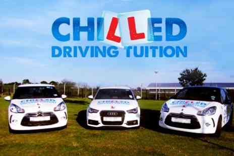 Chilled Driving Tuition - Driving Lessons Five Hours of Driving Tuition - Save 62%