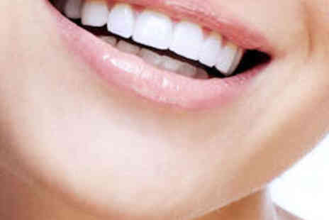 The White Smile Company - One Hour Laser Teeth Whitening Treatment - Save 60%
