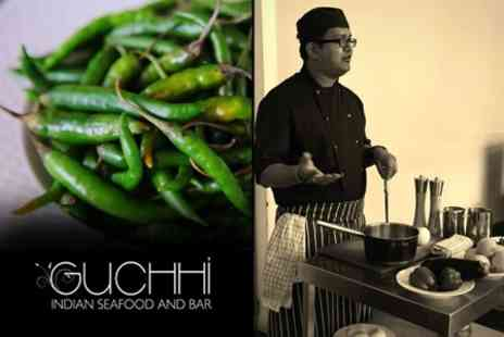 Guchhi - Two Hour Indian Cookery Class For One - Save 37%