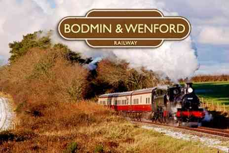 Bodmin and Wenford Railway - Steam Train Tickets For Two Adults - Save 58%