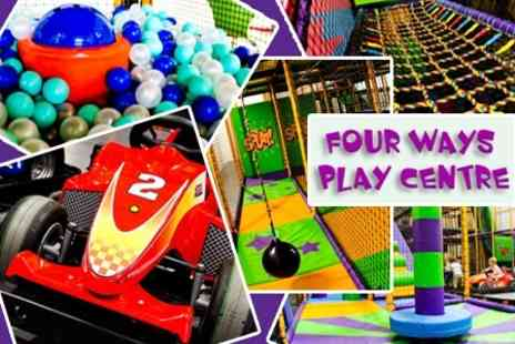 Fourways Play Centre - Soft Play Party With Food and Drinks For Ten Children - Save 59%