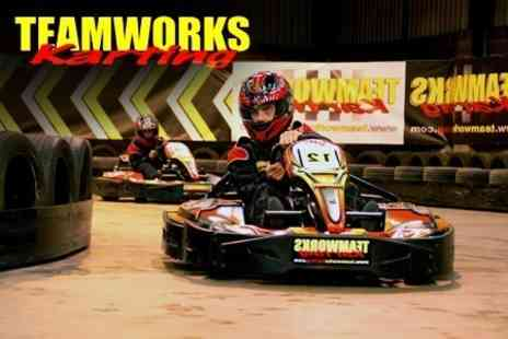 Teamworks Karting - Go Kart Racing - Save 48%