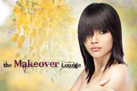 The Makeover Lounge - Full Head Colour or Half Head Highlights With Cut and Finish - Save 63%