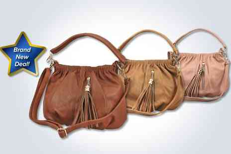 stylepotential.com - Fashionable tassle handbag in pink - Save 50%