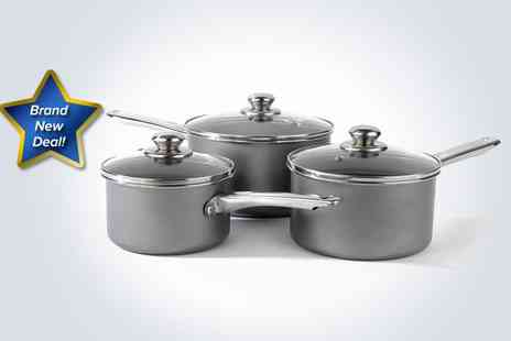 Supa Value - Three piece carbon steel pan set - Save 50%