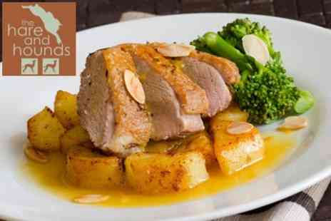 The Hare and Hounds - Two Course Traditional British Meal For Two - Save 59%