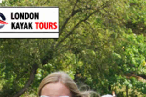 London Kayak Tours - 90 Minute Kayak Tour for One - Save 50%
