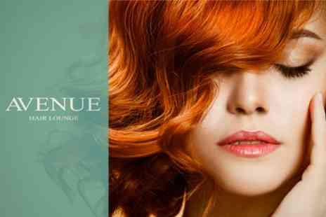Avenue Hair Lounge - Half Head Highlights or Full Head Colour With Cut and Blow Dry - Save 68%
