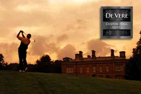 Oulton Hall - Round of Golf and 100 Driving Range Balls For One - Save 75%
