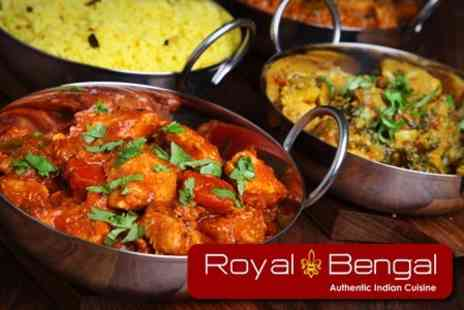 The Royal Bengal - Two Course Indian Meal - Save 61%