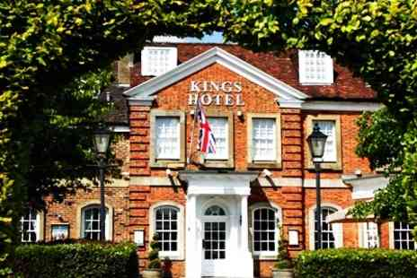 Kings Hotel - In Buckinghamshire One Night Stay For Two With Five Course Taster Menu Dinner, Prosecco and Breakfast - Save 61%