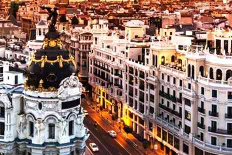 Hotel Quatro Puerta del Sol - In Madrid One Night 4star Stay For Two With Breakfast, Wine and Late Check Out - Save 40%