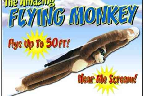 Assist World - Flying Monkey Plush Action Toy - Save 55%