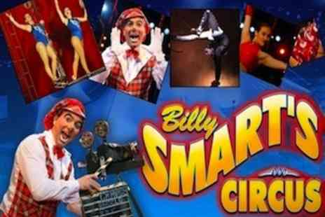 Billy Smarts Circus - Family of Four - Save 55%