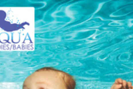 Aquababies - Five 30 Minute Swimming Lessons - Save 52%