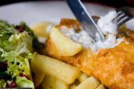The Anchor Inn - Two Course Gastro Pub Meal For Two - Save 60%