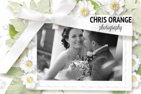 Chris Orange Photography - Wedding Photography Package With Unlimited Edited Images on CD - Save 60%
