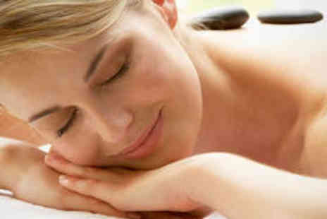Rejuvenate Your Spirit - Hot Stone Massage and Reiki Session - Save 60%