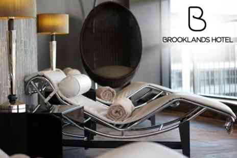 Brooklands Hotel 3 - Spa Day With Lunch and Treatment For One or Two People - Save 41%