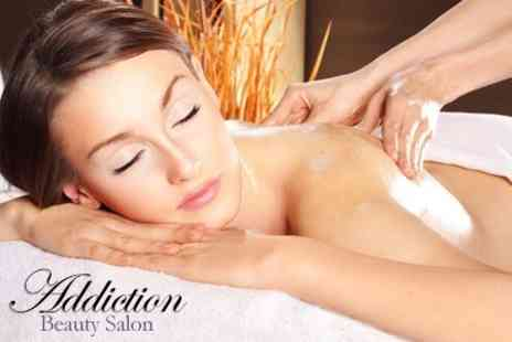 Addiction Beauty Salon - One Hour Full Body Massage  Save 58%