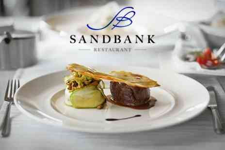 Sandbank Restaurant - Six Course Taster Menu With Prosecco For Two - Save 50%
